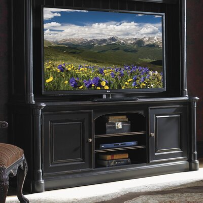 Breckenridge Silverthorne TV Stand Color: Weathered Black, Width of TV Stand: 74 W