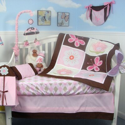 Soho Designs Sweetie Garden Baby 14 Piece Crib Nursery Bedding Set at Sears.com
