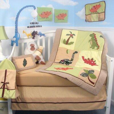 Dinosaur Story Baby 14 Piece Crib Nursery Bedding Set