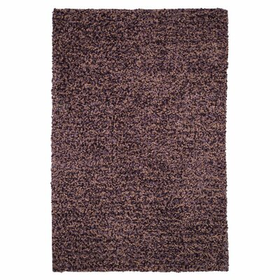 Caddigan Hand-Woven Plum Area Rug Rug Size: Rectangle 36 x 56