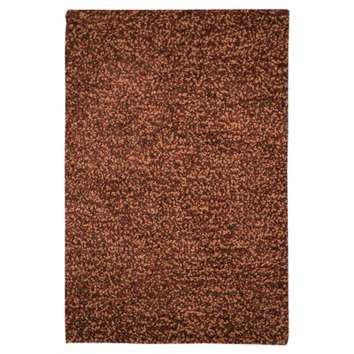 Caddigan Hand-Woven Spice Brown Area Rug Rug Size: Rectangle 76 x 96