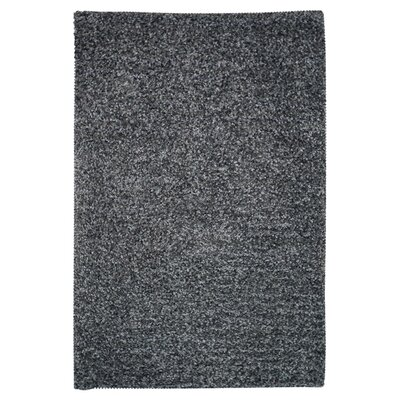 Caddigan Hand-Woven Charcoal Area Rug Rug Size: Rectangle 76 x 96