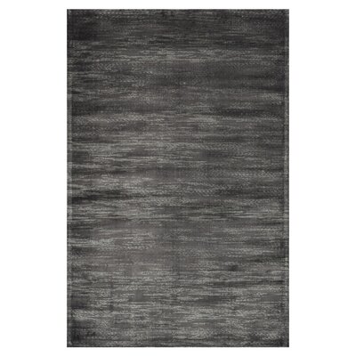 Nyla Iron Gray Area Rug Rug Size: Rectangle 76 x 105