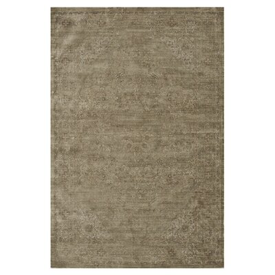 Nyla Taupe Area Rug Rug Size: Rectangle 76 x 105