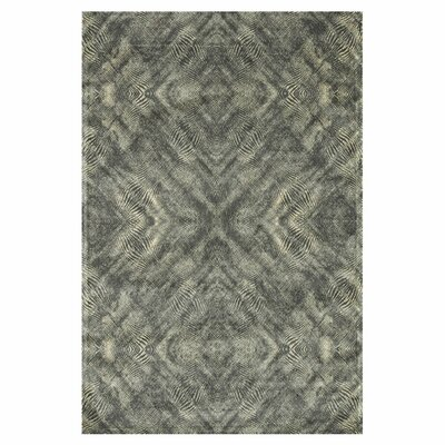 Keever Fog Gray Area Rug Rug Size: Rectangle 92 x 122