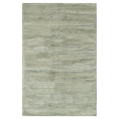 Keever Seafoam Gray Area Rug Rug Size: Rectangle 92 x 122