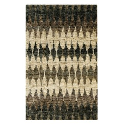 Xavier Hand-Knotted Pinebark Area Rug Rug Size: Rectangle 86 x 116