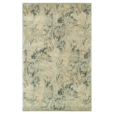 Nyla Ivory Area Rug Rug Size: Rectangle 5' x 7'6
