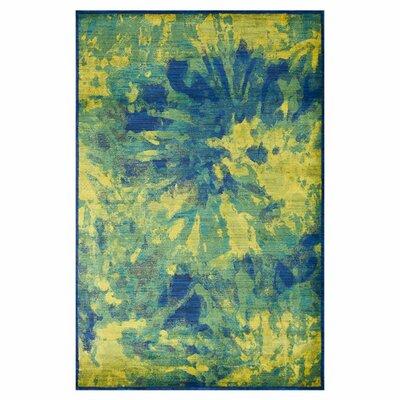"Madeline Island Blue Rug Rug Size: 3'9"" x 5'2"