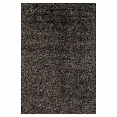 Boyd Hand-Woven Black Area Rug Rug Size: 8 x 11