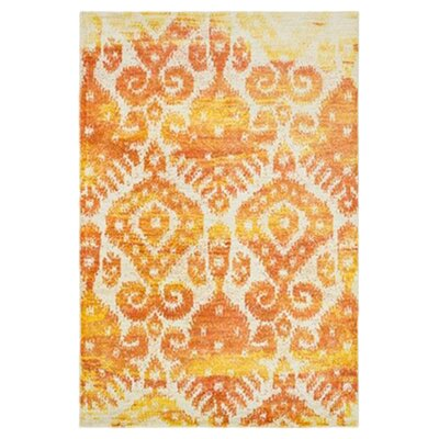 Yanga Orange Area Rug Rug Size: Rectangle 39 x 52