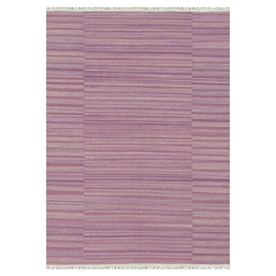 Anzio Hand-Woven Pink Area Rug Rug Size: Rectangle 5 x 76