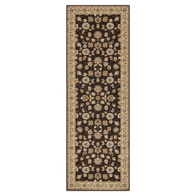 Welbourne Coffee/Beige Area Rug Rug Size: Runner 28 x 77