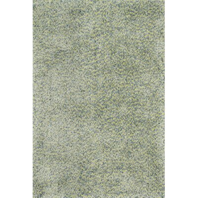 Hackel Hand-Tufted Teal Area Rug Rug Size: Rectangle 76 x 96