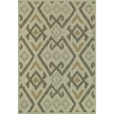 Capri Ivory Indoor/Outdoor Area Rug Rug Size: Rectangle 24 x 39