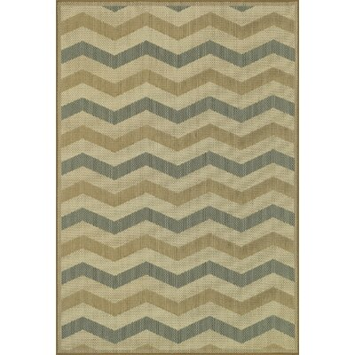 Capri Beige Indoor/Outdoor Area Rug Rug Size: Rectangle 24 x 39