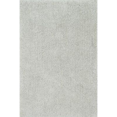 Cozy Shag Hand-Tufted Gray Area Rug Rug Size: Rectangle 5 x 76