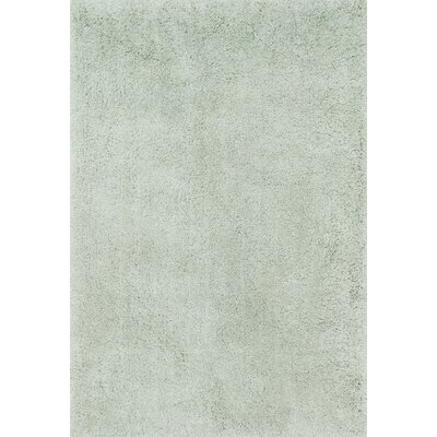 Cozy Shag Hand-Tufted Mist Area Rug Rug Size: Rectangle 5 x 76