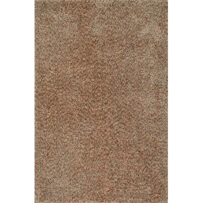 Callie Shag Hand-Tufted Brown Area Rug Rug Size: Rectangle 23 x 39