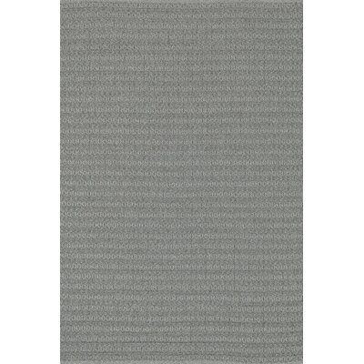 Kirchoff Hand Woven Gray Indoor/Outdoor Area Rug Rug Size: Rectangle 23 x 39