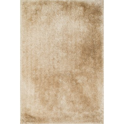 Hersi Hand-Tufted Beige Area Rug Rug Size: Rectangle 76 x 96