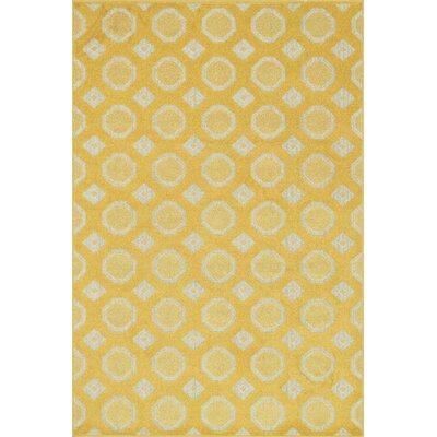 Oasis Lemon/Ivory Area Rug Rug Size: 311 x 510