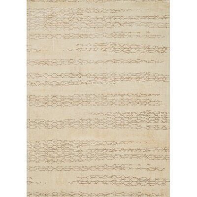 Journey Beige Area Rug Rug Size: 33 x 53