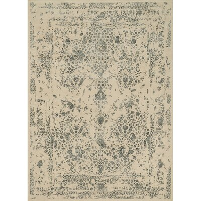 Durdham Park Ivory/Slate Area Rug Rug Size: Rectangle 76 x 105