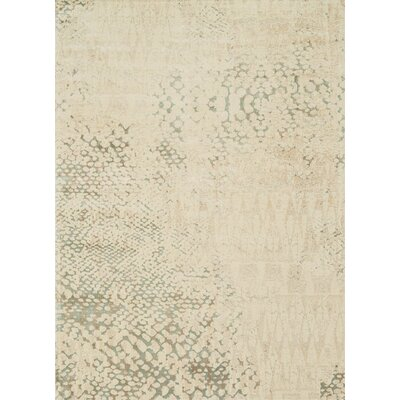 Journey Ivory Area Rug Rug Size: 92 x 122
