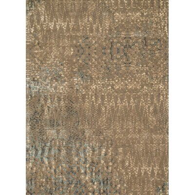 Journey Brown Area Rug Rug Size: 9'2