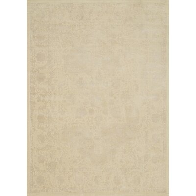 Journey Beige Area Rug Rug Size: 76 x 105