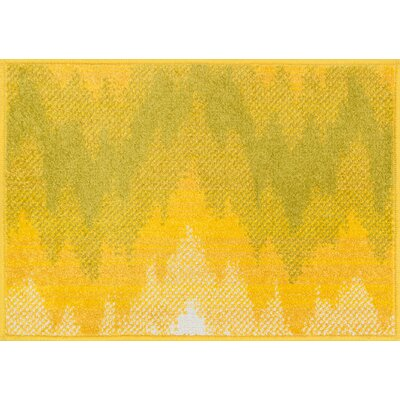 Terrace Yellow Area Rug Rug Size: Rectangle 18 x 5