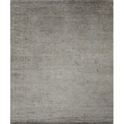 Leffel Hand-Knotted Limestone Area Rug