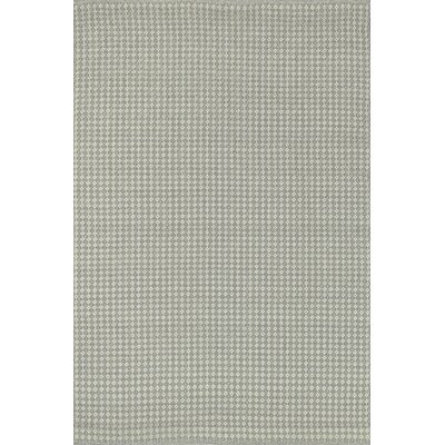 Kirchoff Hand-Woven Pewter Indoor/Outdoor Area Rug Rug Size: Rectangle 5 x 76