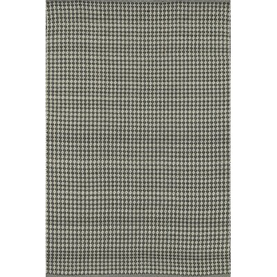 Kirchoff Hand-Woven Gray Indoor/Outdoor Area Rug Rug Size: Rectangle 23 x 39