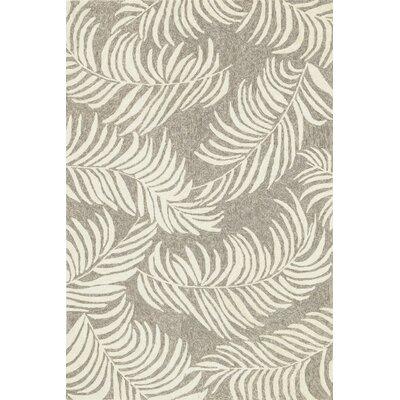 Tropez Hand-Hooked Ivory Indoor/Outdoor Area Rug Rug Size: 23 x 39
