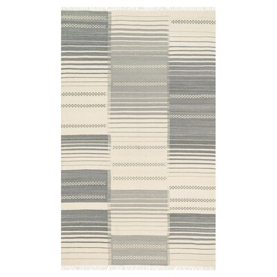 Rio Gray Area Rug Rug Size: Rectangle 5 x 76