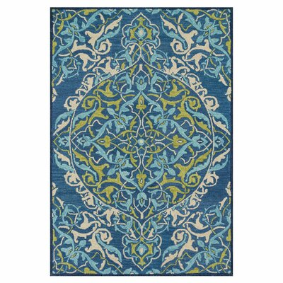 Mayfield Hand-Hooked Blue Area Rug Rug Size: 710 x 11