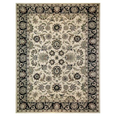 Maple Hand-Tufted Wool Gray/Beige Area Rug Rug Size: Rectangle 5 x 76