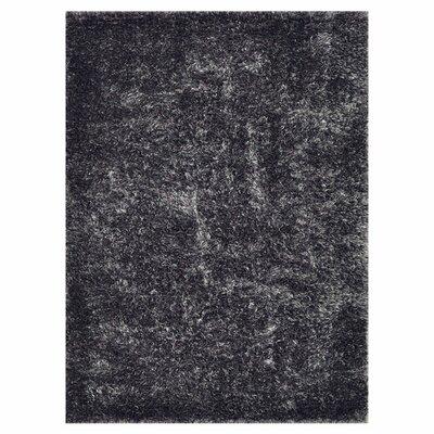 Kastner Hand-Woven Black Area Rug Rug Size: Rectangle 5 x 76