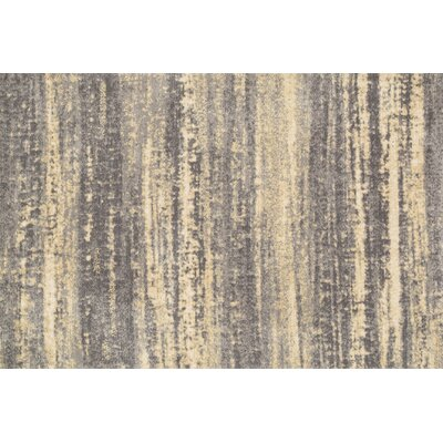 Wilde Gray/Beige Area Rug Rug Size: Rectangle 76 x 96