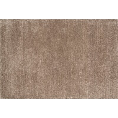 Kirwan Hand-Loomed Brown Area Rug Rug Size: Rectangle 36 x 56