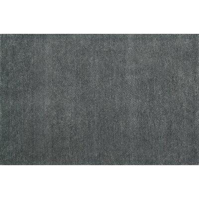 Dawson Hand-Loomed Slate Area Rug Rug Size: 5 x 76