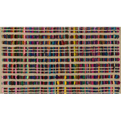 Choate Hand-Woven Beige Area Rug Rug Size: Rectangle 18 x 3