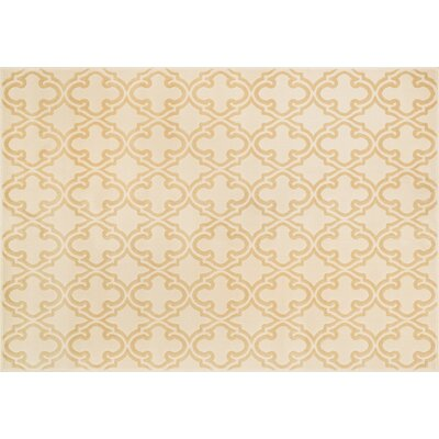 Dann Ivory/Beige Area Rug Rug Size: Rectangle 23 x 39