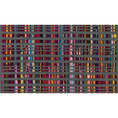 Tyler Hand-Woven Gray Area Rug Rug Size: Rectangle 23 x 39