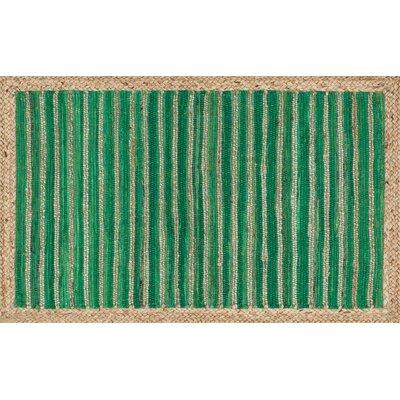 Gavin Hand-Woven Green Area Rug