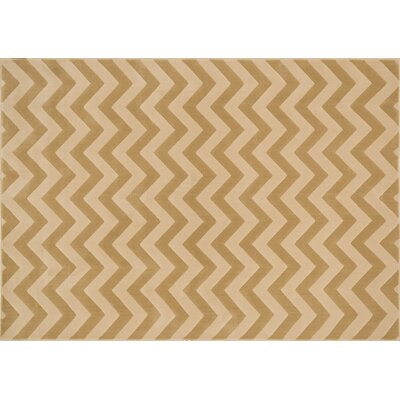 Schiess Beige/Ivory Area Rug Rug Size: Rectangle 23 x 39