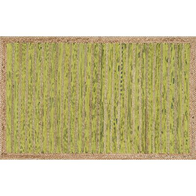 Gavin Hand-Woven Light Green Area Rug