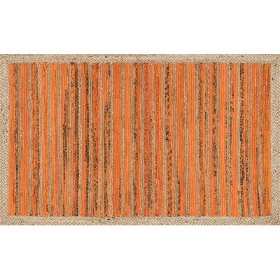Gavin Hand-Woven Orange Area Rug